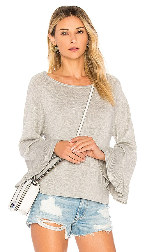 Splendid Cashmere Blend Sweater in Gray
