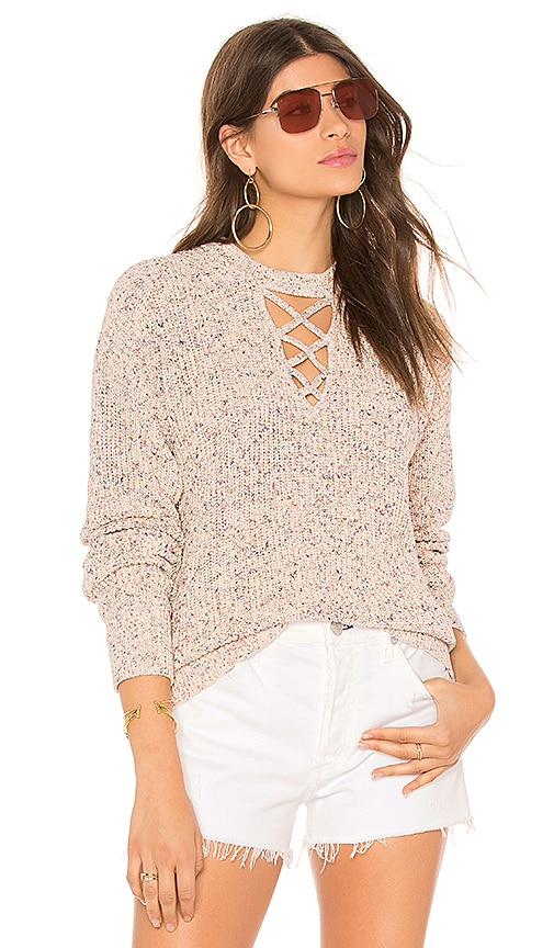 Splendid Coupe Sweater in Blush