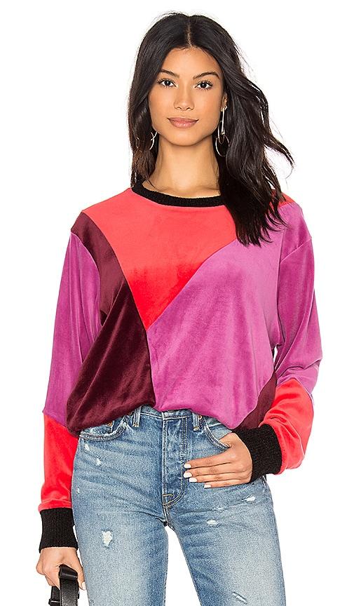 x MARGHERITA Velluto Pullover Sweatshirt