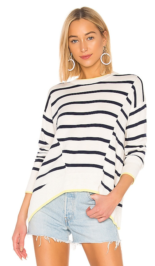 Avery Stripe Cashmere Blend Sweater