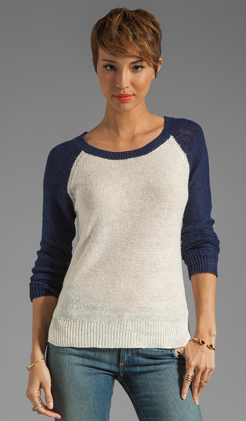 Coastal Linen Sweater