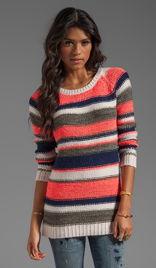 Bleeker Stripe Pullover Sweater