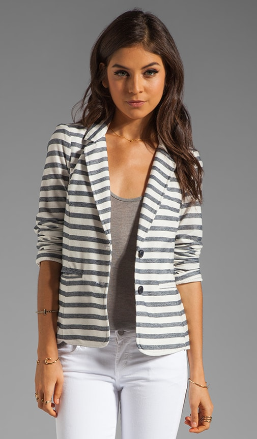 Nantucket Stripe Blazer