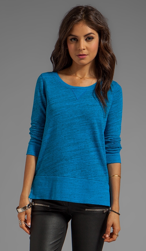 Space-Dyed Heather Active Pullover