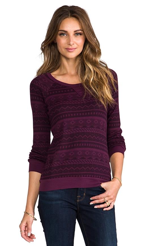 Fair Isle Sweatshirt