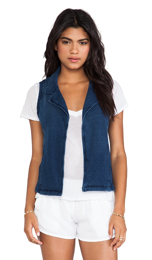 Vintage Indigo Dye Vest