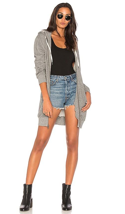 9607a4e6d737f Splendid French Terry Sweatshirt Dress in Heather Grey | REVOLVE