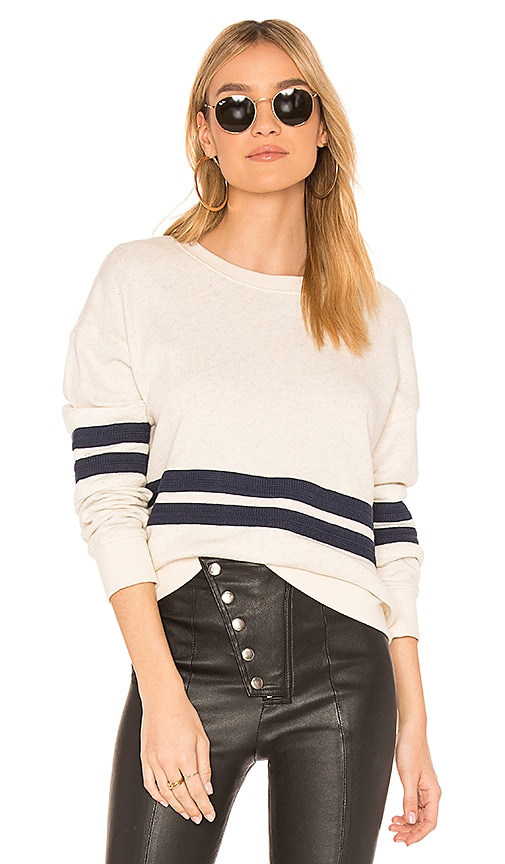 Splendid Seabrook Sweatshirt in Beige