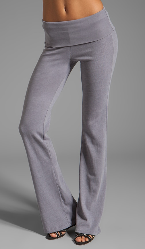 Slub Active Wide Leg Sweatpants