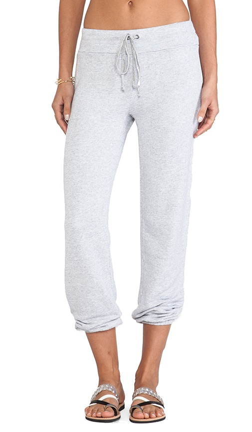 Soft Melange French Terry Sweatpant