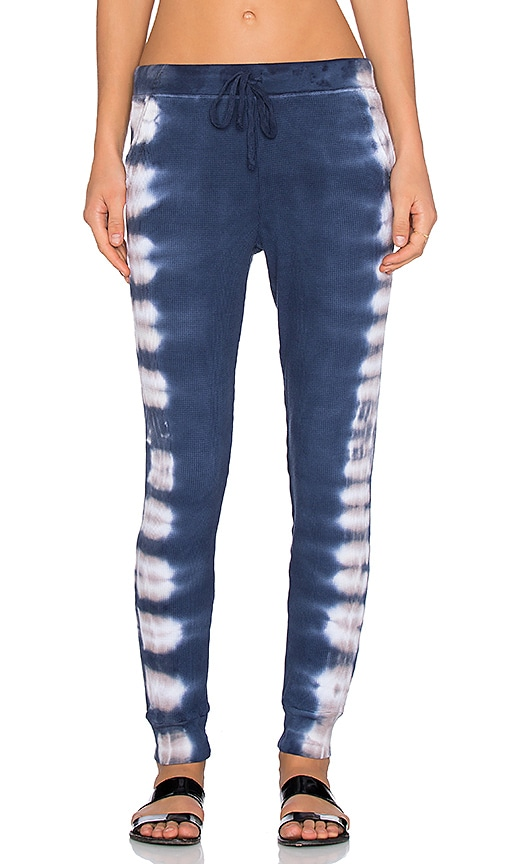 Splendid Kaleidoscope Jogger Pant in Navy & Clay