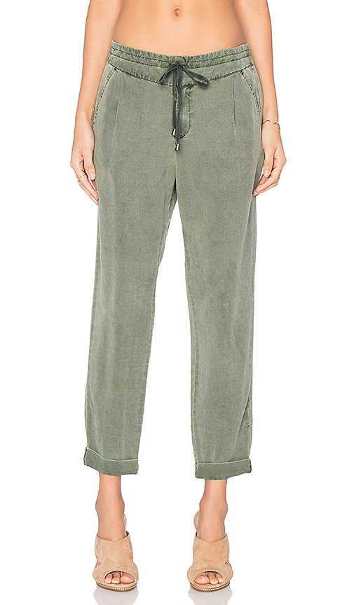 Splendid Laguna Pant in Green