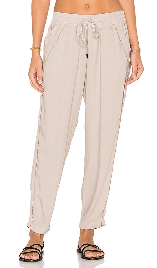 Splendid Crosshatch Pant in Taupe