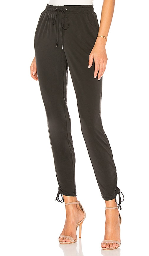 Splendid Sandwash Jersey Jogger in Black