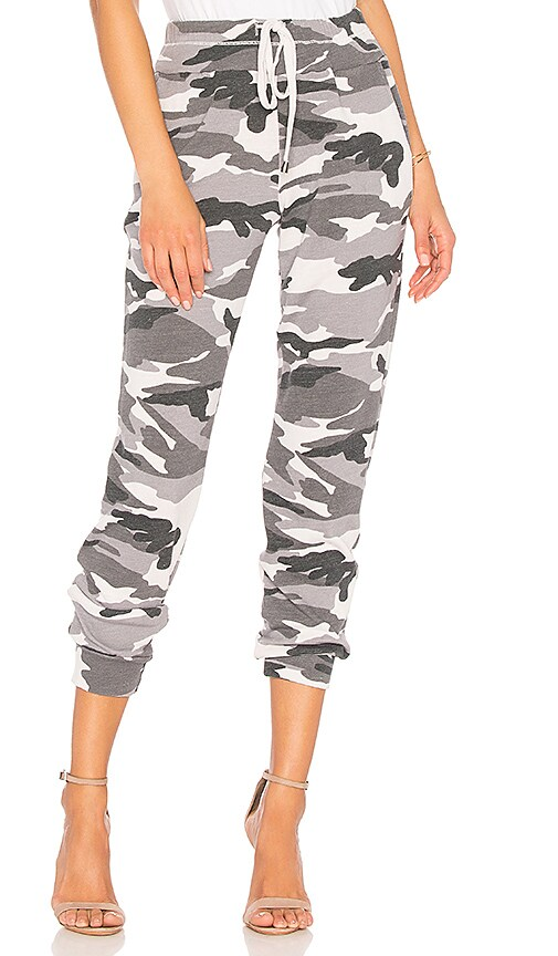 Splendid Camo Pant in Gray
