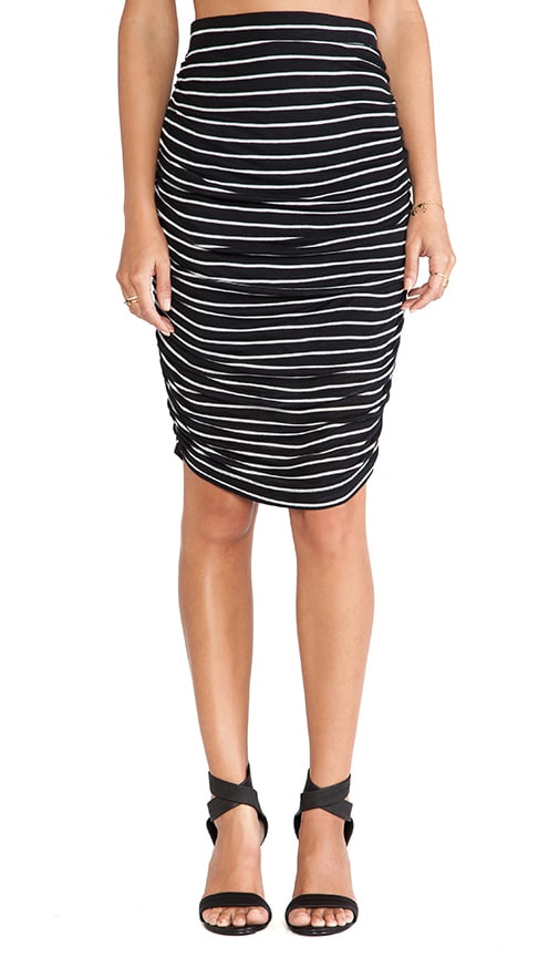New Haven Stripe Skirt