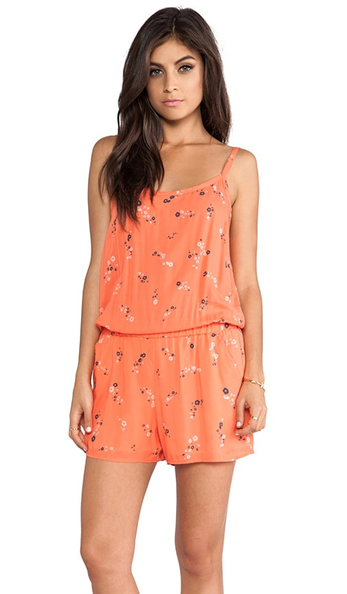 California Poppies Romper