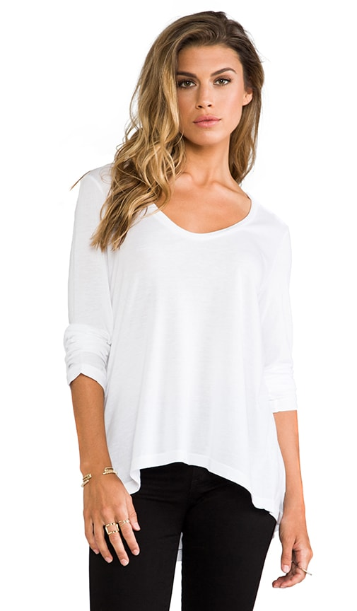 Very Light Jersey Long Sleeve Tee