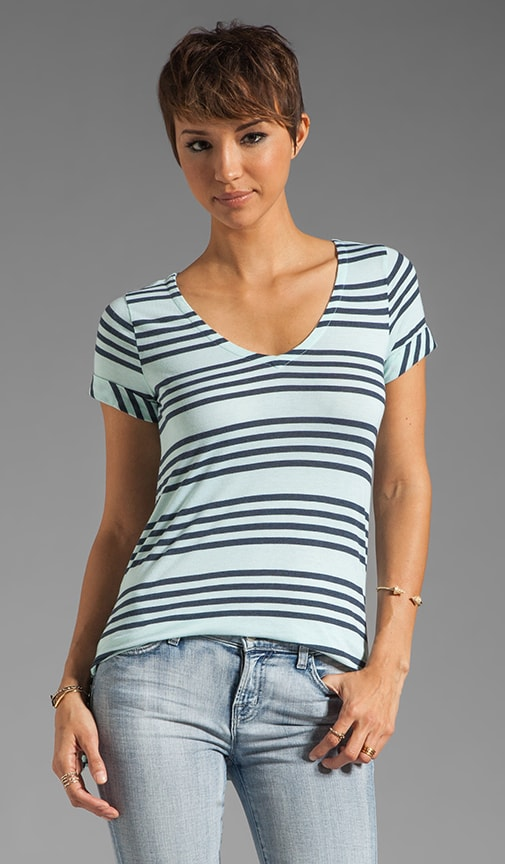 Capri Stripe Top