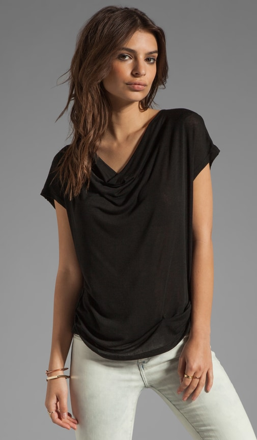 Drapey Lux Jersey Top