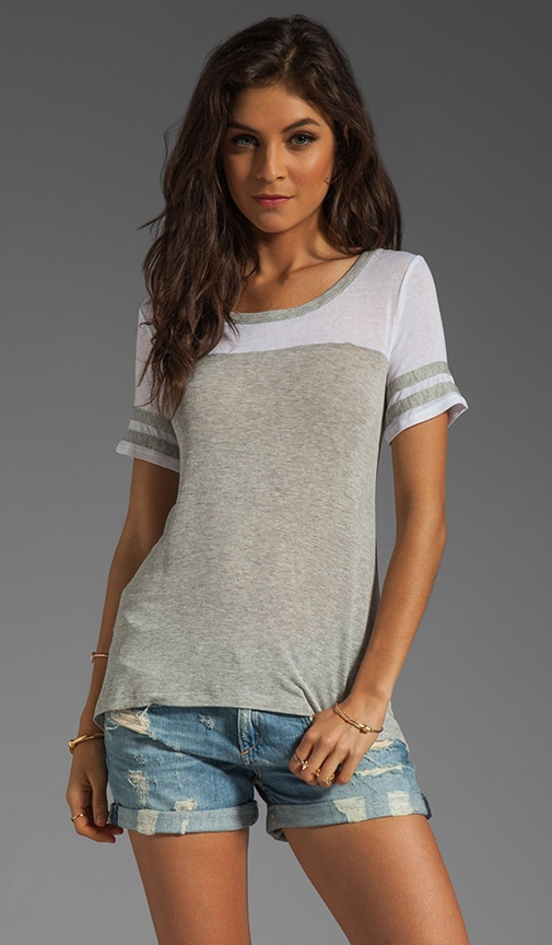 Drapey Lux Jersey Ringer Top