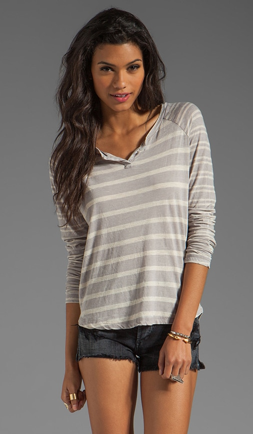 Sugarcane Stripe Top