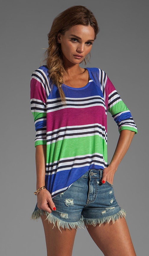 Cabana Stripe Top