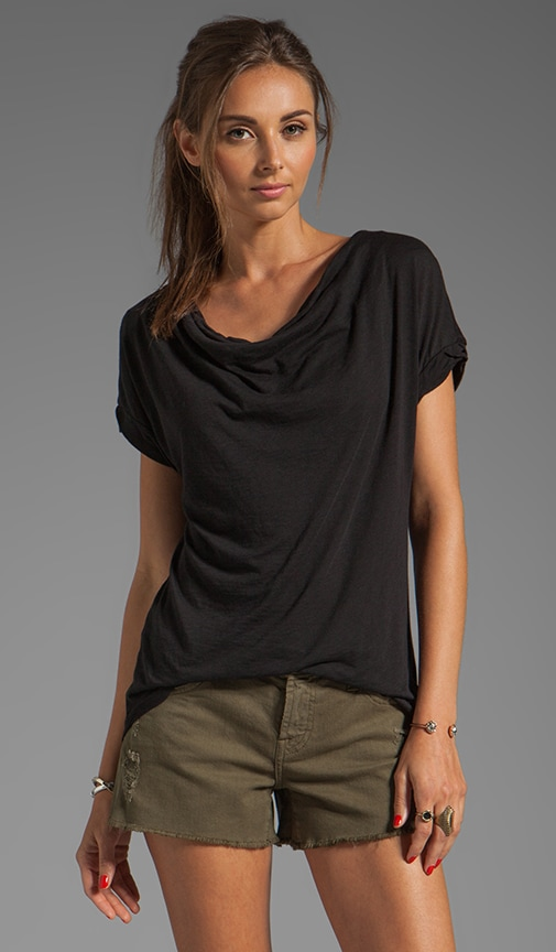 Very Light Jersey Drape Top