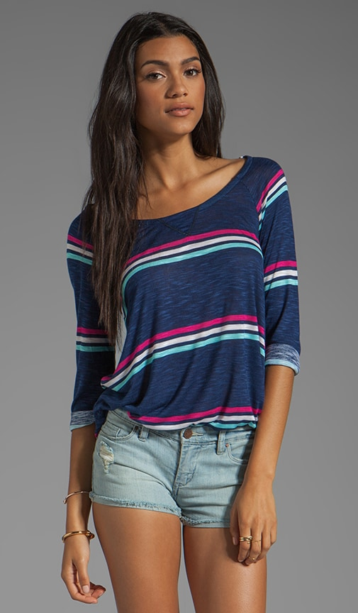 Hermosa Slub Stripe Top