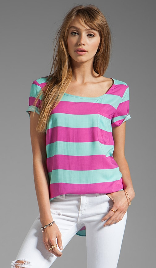Magnolia Stripe Top