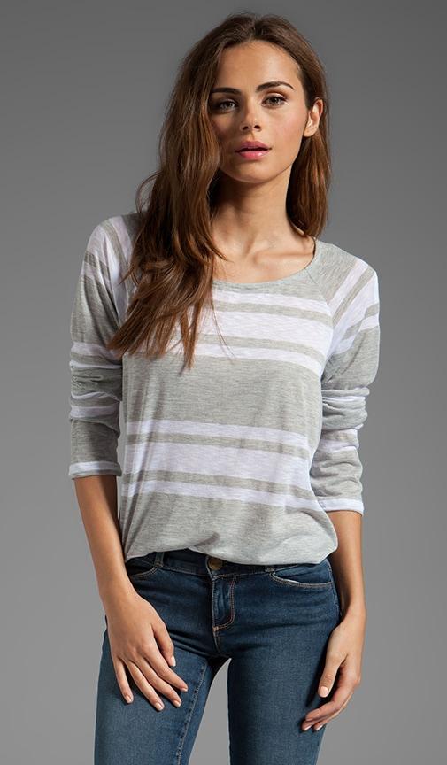 Stripe Long Sleeve Top