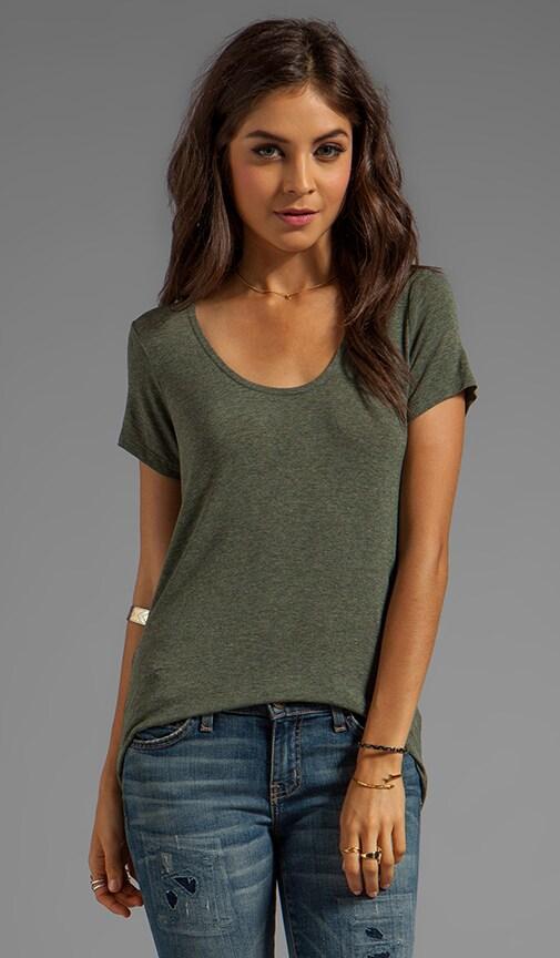 T-shirt Drapey Luxe à manches courtes
