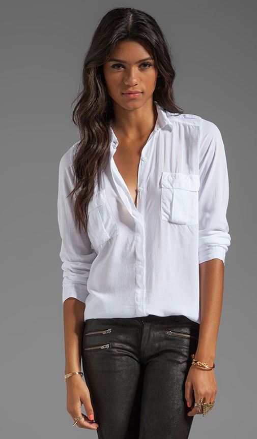 Shirting Long Sleeve Blouse