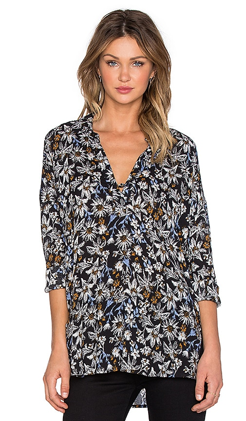 Cedarwood Floral Long Sleeve Top
