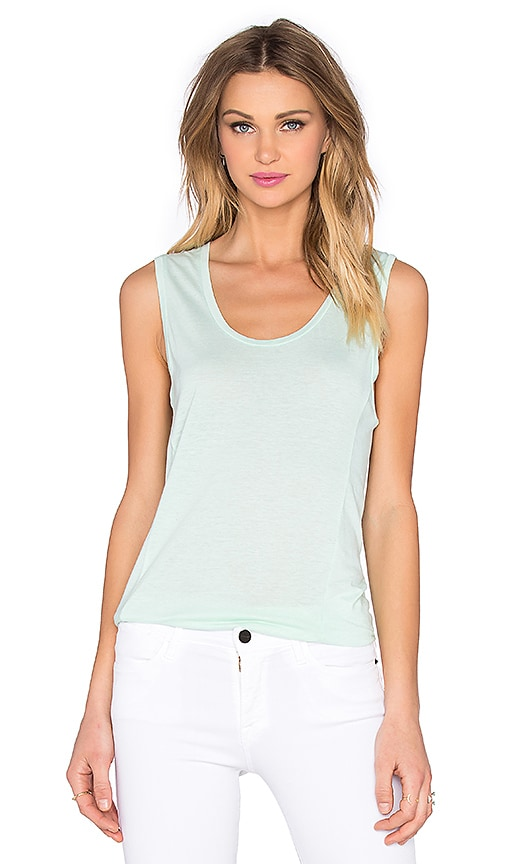 Very Light Jersey Scoop Neck Tank