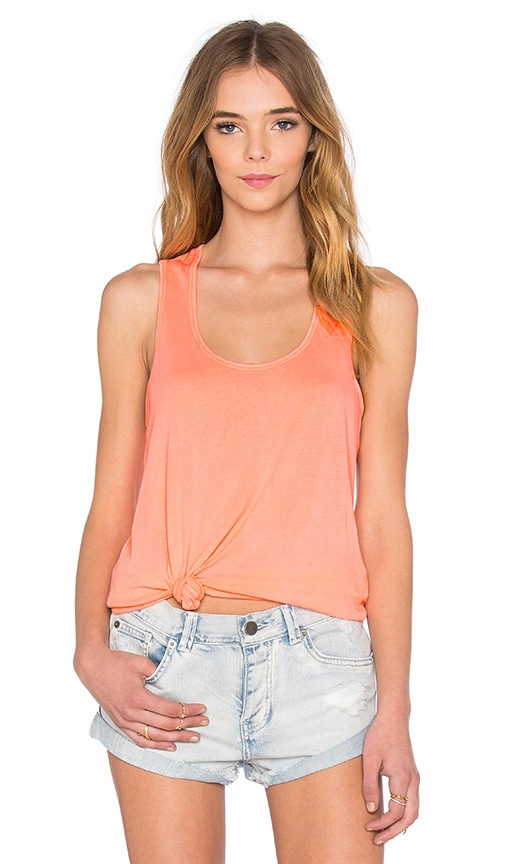 Splendid Vintage Whisper Tank in Orange