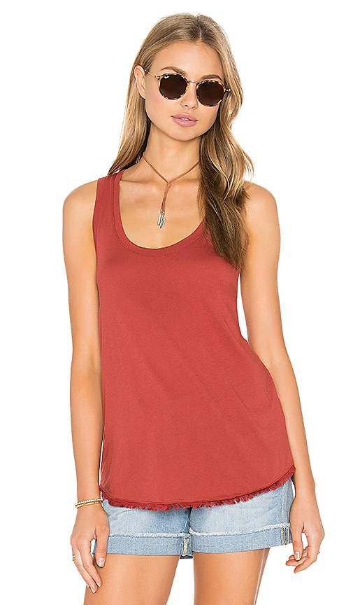 Splendid Fringe Tank in Rust