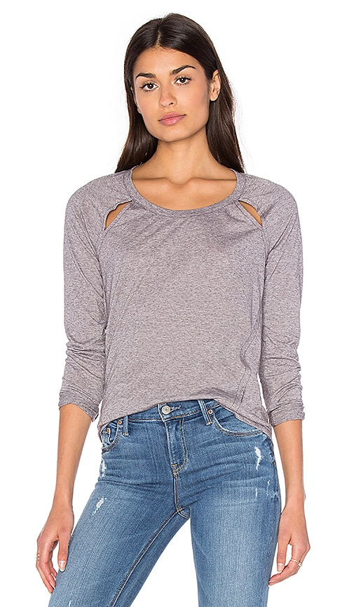Tri Blend Jersey Long Sleeve Top