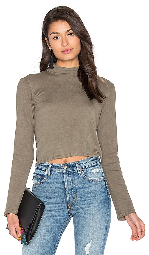 1x1 Cropped Turtleneck