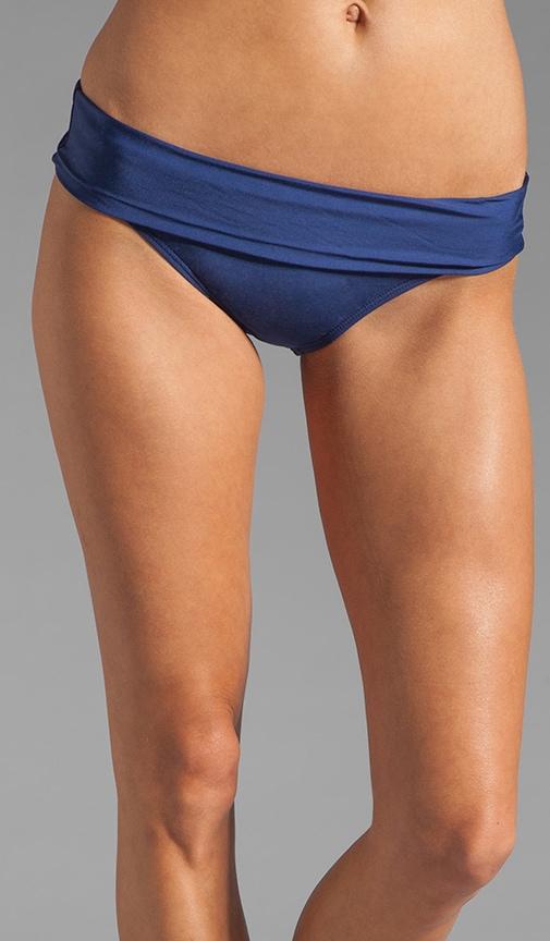 Bayside Solids Banded Bikini Bottom