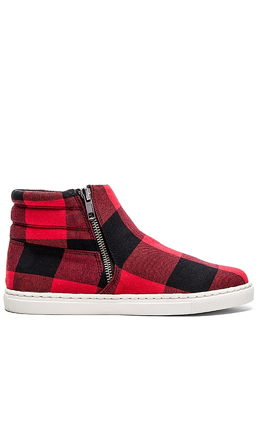 Splendid Sarasota Sneaker in Red