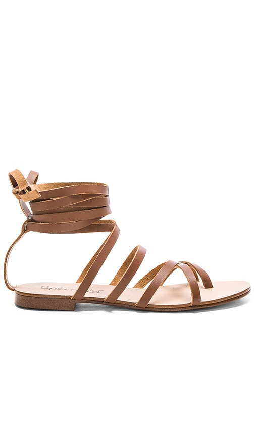 Splendid Carly Sandal in Cognac