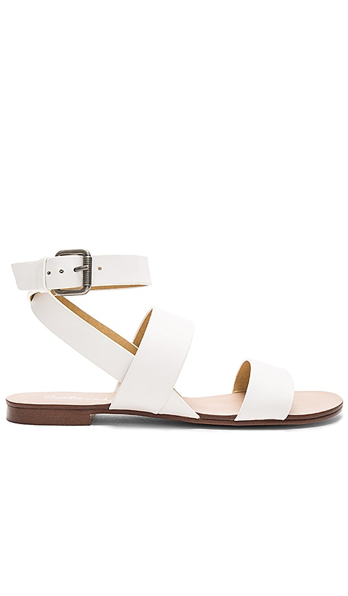Splendid Colleen Sandal in White