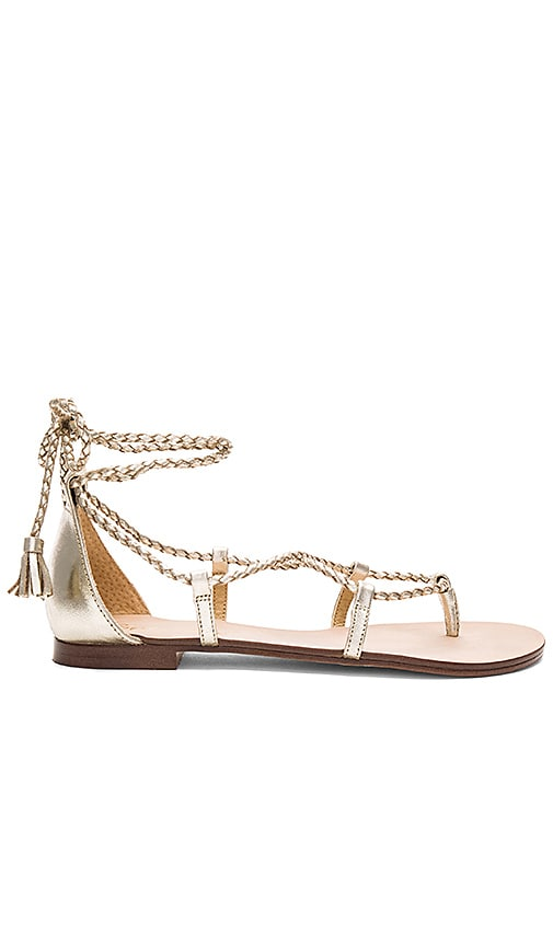 Splendid Cora Sandal in Metallic Gold