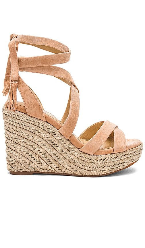 Splendid Janice Wedge in Beige