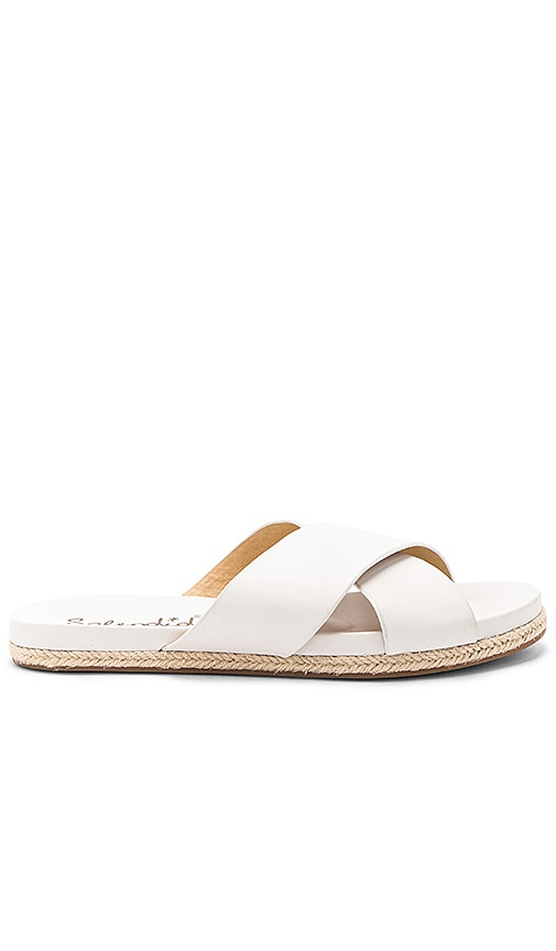Splendid Jenni Sandal in White