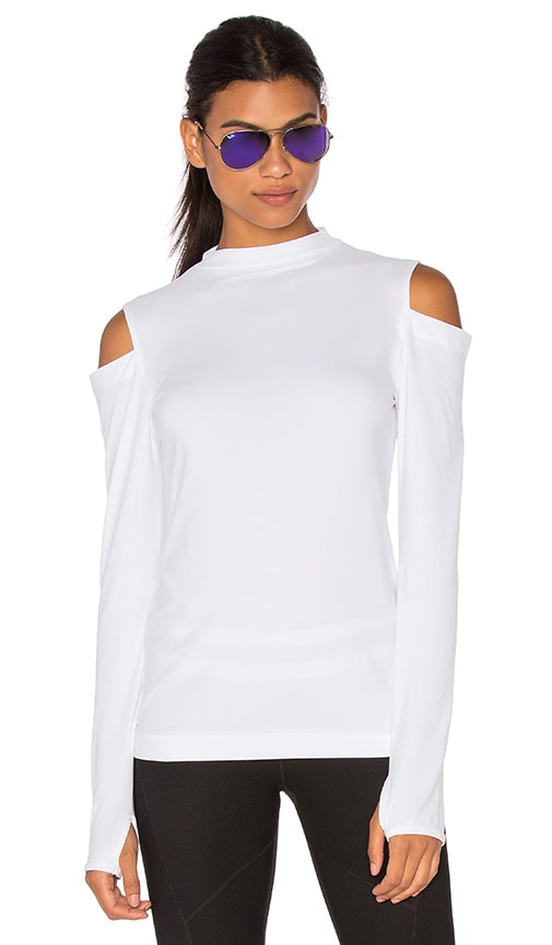 Splits59 Monroe Long Sleeve Tee in White