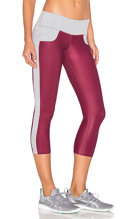 Splits59 Cash Capri in Burgundy