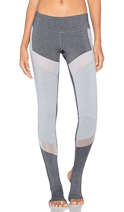 Splits59 Demi Stirrup Legging in Gray