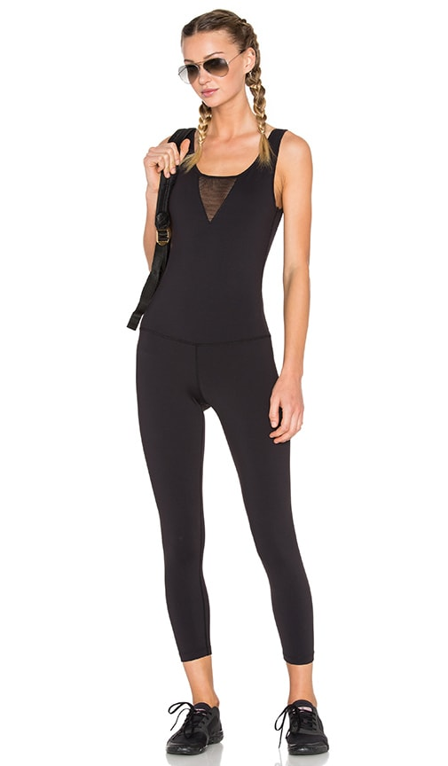 Splits59 Charisma Noir Bodysuit in Black